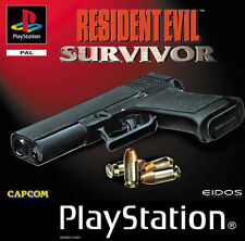 PS1 Resident Evil: Survivor (Sony PlayStation 1, 2000) Anleitung & OVp