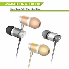 Professional All-Metal HiFi In-Ear Earphones with Noice Isolation & Built in Mic
