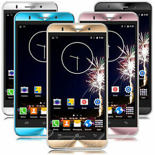 "Cheap Unlocked 5"" Android 5.1 Mobile Smart Phone Quad Core Dual SIM WiFi GPS 3G-"