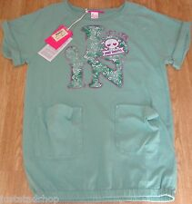 Nolita Pocket girl  Beagle green top t-shirt  tunic dress  11-12-13 y SM  BNWT