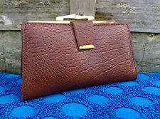 Vintage Womens Leather Purse Wallet Made In England Boxed For 25+ Years But New