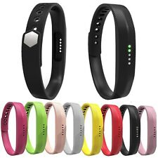 New Soft Silicone Sports Wrist Band Bracelet Strap For Fitbit Flex 2 Smart Watch
