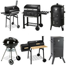 BBQ grill barbecue grille wagon charbon de bois fumoir smoker
