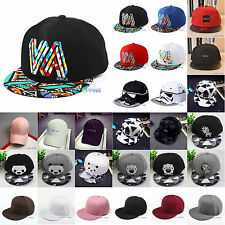 Unisex Men Women Adjustable Baseball Cap Trucker Cap Sport Snapback Hip Hop Hat
