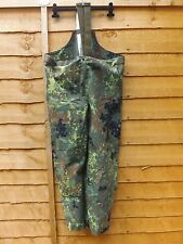 GENUINE ISSUE GERMAN ARMY FLECKTARN CAMO GORE-TEX WATERPROOF TROUSERS