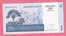 Madagascar, Malagasy - UNC Banknote - 100 Ariary - 2004