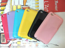 Shiny Silicon Soft Back Cover Case For Apple iPod Touch 4 4G
