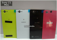 Original Back Battery Housing Back Door Glass Panel Sony Xperia Z1 Mini Compact