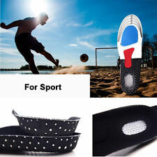 Men Gel Orthotic Sport Running Insoles Insert Shoe Pad Arch Support Cushion UP