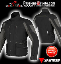 Giacca Dainese Temporale D-dry nero moto touring impermeabile 4 stagioni