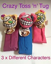 Ruff 'n' Tumble Crazy Toss 'n' Tug ~ 3 Different Characters ~ Swing it, Sling it