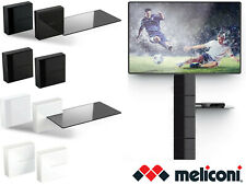 Meliconi Ghost Cubes Expandible Audio Video Modular Cable Cover and Shelf Option