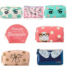 Zoella Make Up Vanity Case Beauty Cosmetic Bag Coin Purse Wallet Christmas gift
