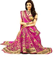 Bollywood Inspired -  Wedding Wear Pink Lehenga Choli - 60224G