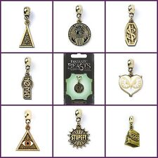 New Official Fantastic Beasts Jewellery Brass Plated Slider Charm Bead Pendant