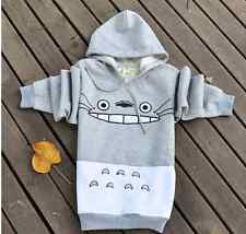 New Anime My Neighbor Totoro Jumper Hoodie Studio Ghibli Spirit Cute Gray Hoody