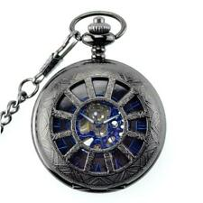Orologio da Tasca Meccanico Retrò con Catena Regalo Pocket Watch Vari Design