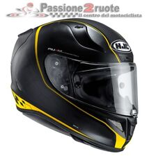 Casco moto Hjc Rpha 11 Riberte mc-3sf giallo yellow casque integral helm