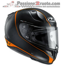 Helmet Hjc Rpha 11 Riberte mc-7sf orange moto casque integral helm smoke visor