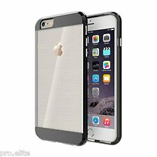ProElite Shock Absorption Bumper Back Case cover for Apple iPhone 6 6s 6 plus BK