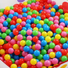 Childrens Plastic Play Balls Ball Pits Pool Bouncy Castle Multicoloured