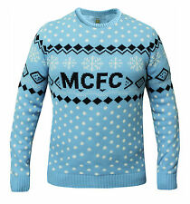 MANCHESTER CITY CHRITSMAS MAGLIONE PULLOVER STAGIONE 2016 / 2017