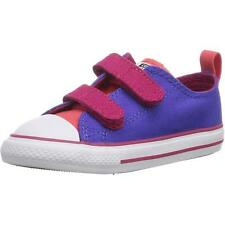 Converse Chuck Taylor All Star 2V Infant Periwinkle Textile Trainers