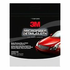 3M Car Automotive Cleaning Products | (39016) Microfibre Detailing Cloth | 1 Per