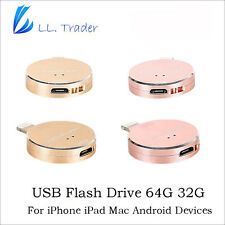 Ll Trader 64Gb 32Gb I-Flash Drive Usb Otg Device Memory Stick For Iphone 7 Plus1
