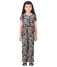 Oxolloxo Girls Printed Elastic Jumpsuit(W16136GOV003)