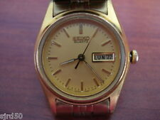Genuine G/P Seiko Quartz Day/Date Ladies Bracelet Watch