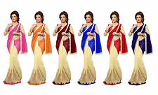 Bollywood Party Wear Saree Indian Pakistani Sari Designer Bridal Wedding Saree