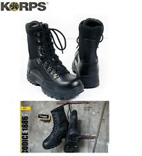 STIVALETTO STIVALE SECURITY KORPS  CACCIA SPOORT PELLE OXFORD
