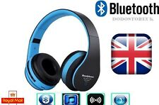 Foldable Wireless Stereo Bluetooth Headset Headphones +Mic For iPhone/Samsung/PC