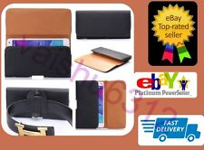 ★ For Karbonn Aura ★ PU Leather Magnetic Flip Belt Hip Pouch Case ★