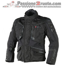 Dainese Ridder D1 black Gore-tex moto chaqueta impermeable y respirable