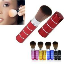 Women's Retractable Perfect Blush Foundation Face Powder Cosmetic Makeup Brush