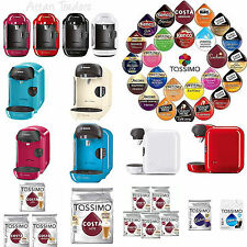 Bosch Tassimo Vivy T12 Coffee Hot Chocolate Pods Cappuccino Machine Latte UK Cup