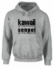 Brand88 - Kawaii in the Streets, Senpai in the Sheets, Printed Hoodie