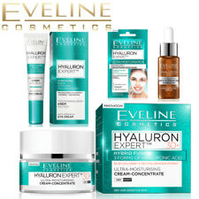 Eveline NEW HYALURON series Face and Eye Creams 30+ 40+ 50+ 60+ Anti Ageing