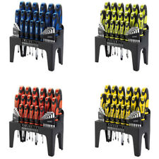 Draper 44pc Magnet Screwdriver Allen Hex Bit Keys Torx Home Tool Set Kit PZ Pozi
