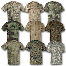 HELIKON TEX CLASSIC ARMY T SHIRT BRITISH US ARMY COTTON MILITARY CAMO CAMOUFLAGE