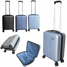 Ryanair EasyJet Hard Shell  4 wheel spinner cabin trolley suitcase hand luggage