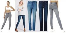 Women Sexy Button Zip Ladies Jegging Jeans Trouser Light,Mid, Dark wash 8-18