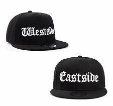 new product 4d49e 56ad6 Eastside vs Westside Rap Hip Hop Snapback Baseball Cap Hat by True Heads