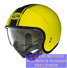 NOLAN N21 CARIBE 48 LED YELLOW Casco Jet Scooter Moto Special by NolanGroup