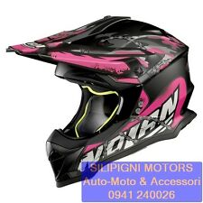 NOLAN N53 NO ENTRY 32 FLAT ASPHALT BLACK Casco Integrale Off Road Enduro Cross