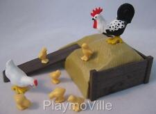 Playmobil Hens & hay store NEW extras for farm/medieval castle/Victorian sets