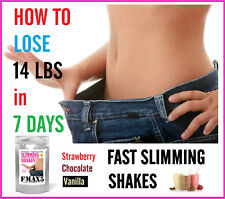 Meal Replacement Weight Loss Juice Slimming Shakes, No Diet Pills, Lose Fat Fast