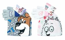 Kids Official The Secret Life of Pets Hat & Gloves Set Warm Winter Xmas Gift